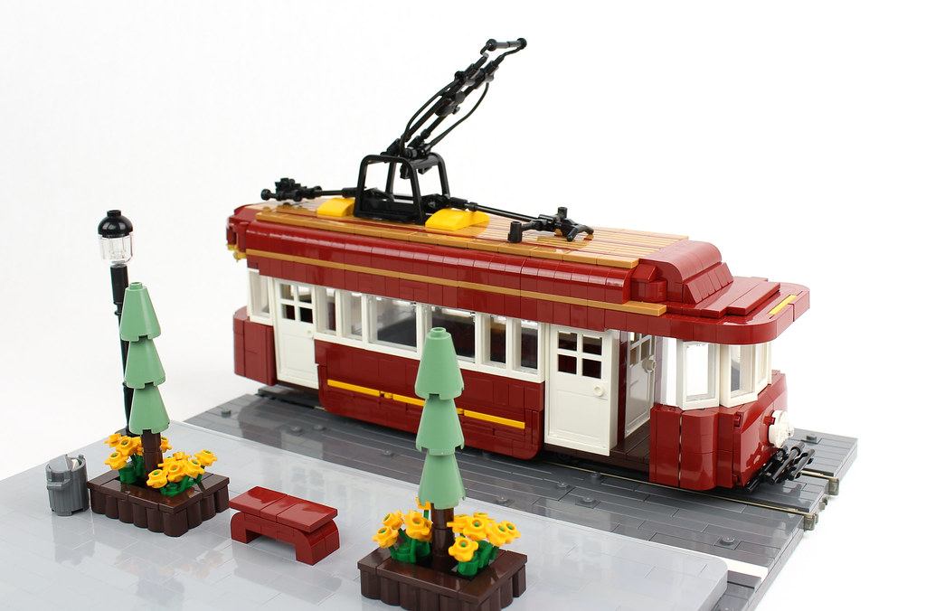 Faithful Trolley (custom built Lego model)