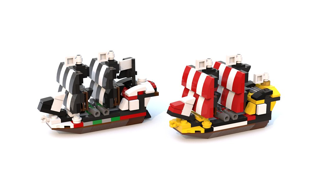 6286 & 6285 (custom built Lego model)