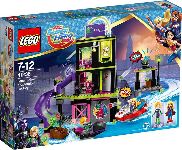 41238 Lena Luthor Kryptomite Factory 1