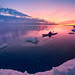 Winter Kayaking at Tiny Beach by Henry w. L