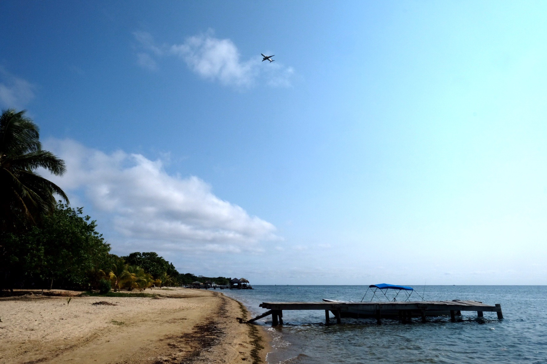 Beach walk roatan
