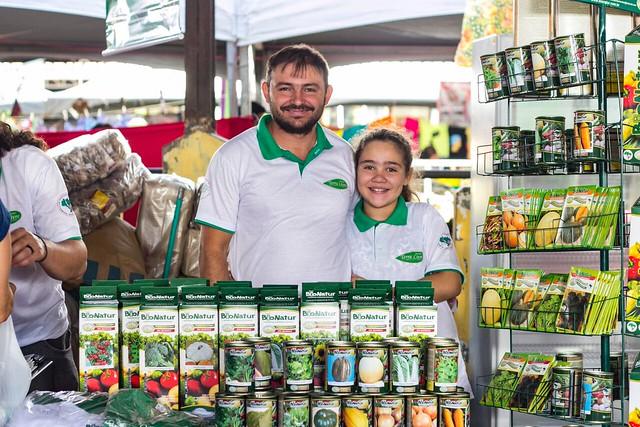 Sementes agroecológicas da Bionatur estão presentes na Feira da Reforma Agrária