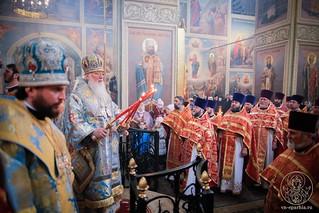 Литургия в Иверском монастыре 350