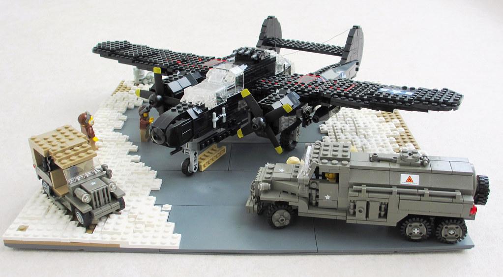 P-61 'Black Widow' diorama (1)