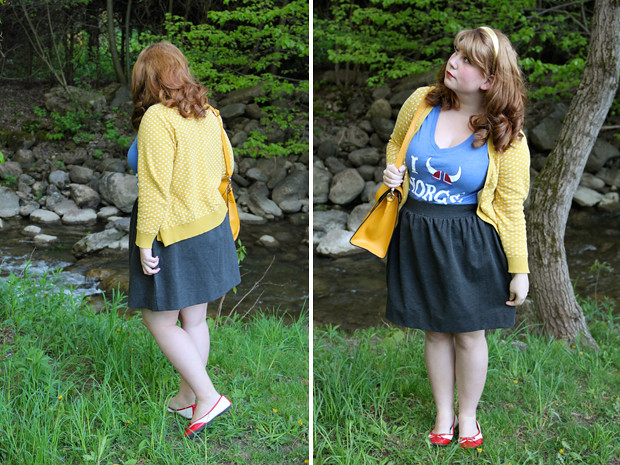 blog wanderlust whimsy megan outfit what I wore disney epcot norway norge thrift