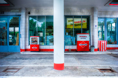 Oldtimer Tankstelle HH #7621