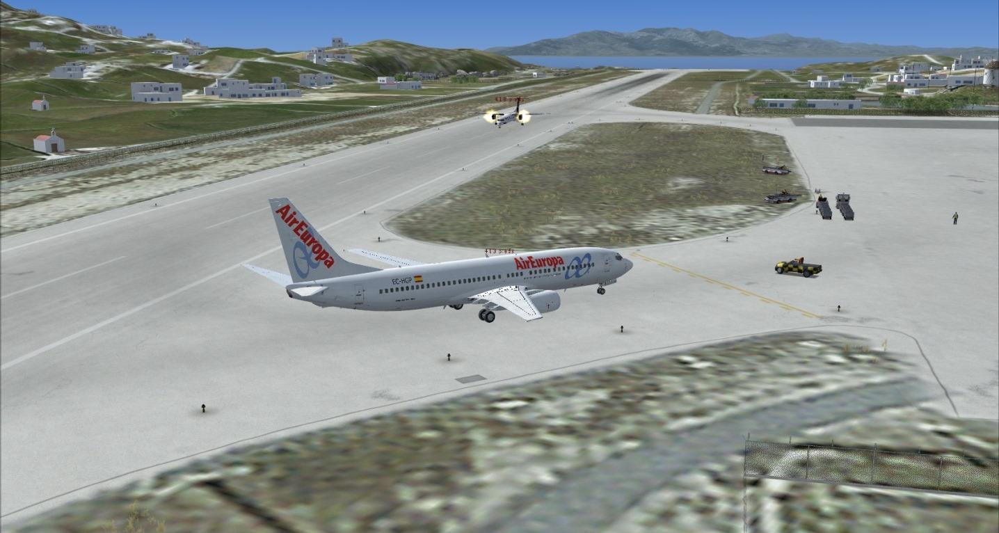 First landing Mykonos 8841250299_936545abe8_o