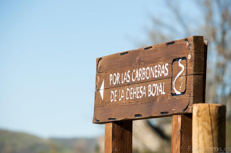Ruta de las Carboneras en La Hiruela
