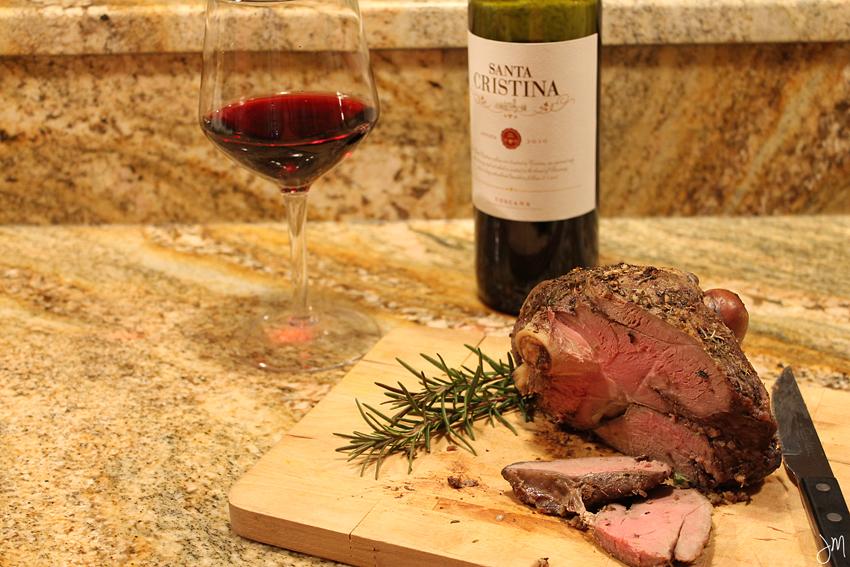 Julip Made wine pairing lamb