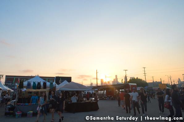 Jubilee sunset @ Jubilee, LA 6-7-2013