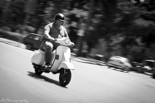 Italian Travel Style: Vespa by Joeri Kemp