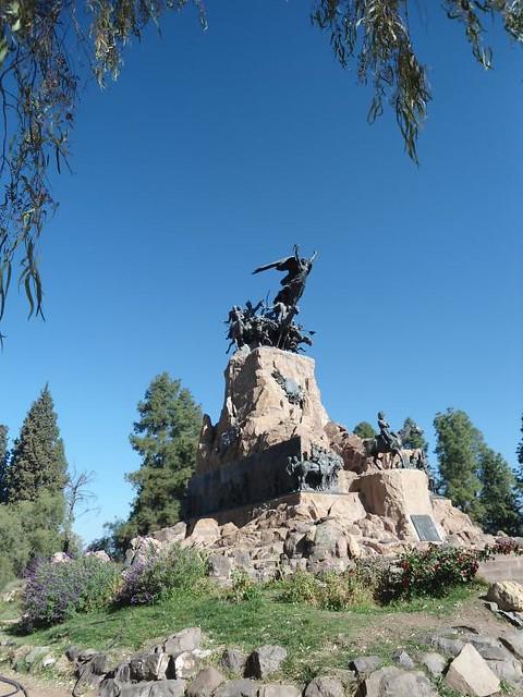 Monumento al ejército de los Andes