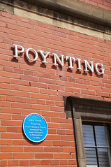 Photo of John Henry Poynting blue plaque