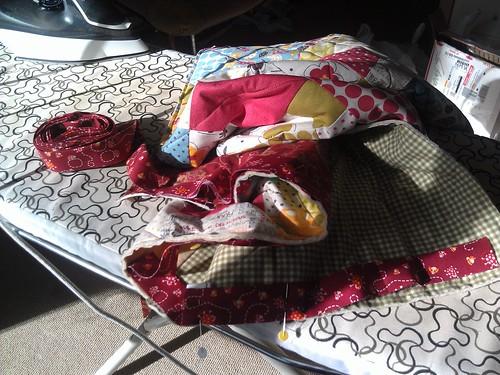 Classy baby quilt