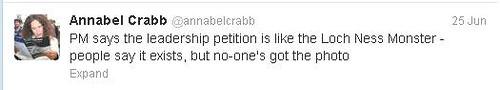 Annabel Crabb petition