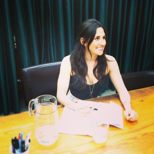 Dear Lucy signing with @juliesarkissian! So proud of you, lady!