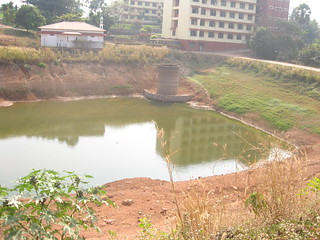 The RWH pond in the medical college campus