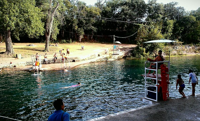 Barton springs in austin flickr photo sharing for Barton swimming pool timetable