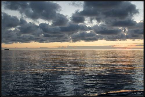 sea sunrise mare alba caraibi