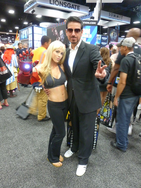 Extremis-edition Pepper Potts and Tony Stark (Iron Man 3)