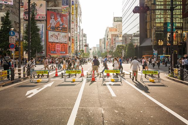 20130724_03_Akihabara Pedestrian precinct SNAP