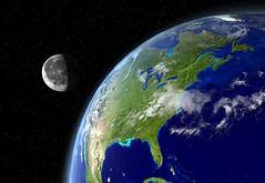 Earth and Moon - PlanetMaker