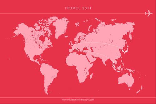 travelmap 2011