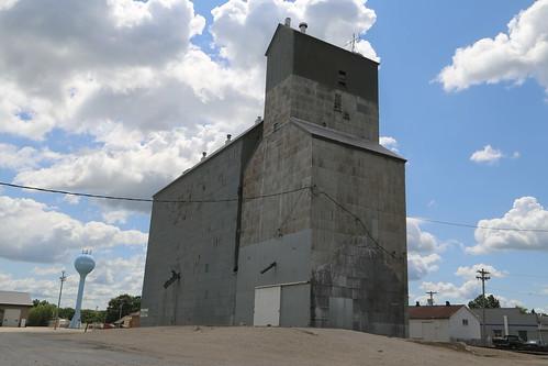 Wittemore Iowa, Grain Elevator, Kossuth County IA