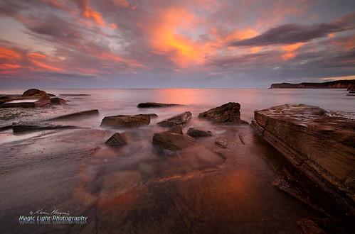 sunset seascape landscape australia centralcoast terrigalhaven