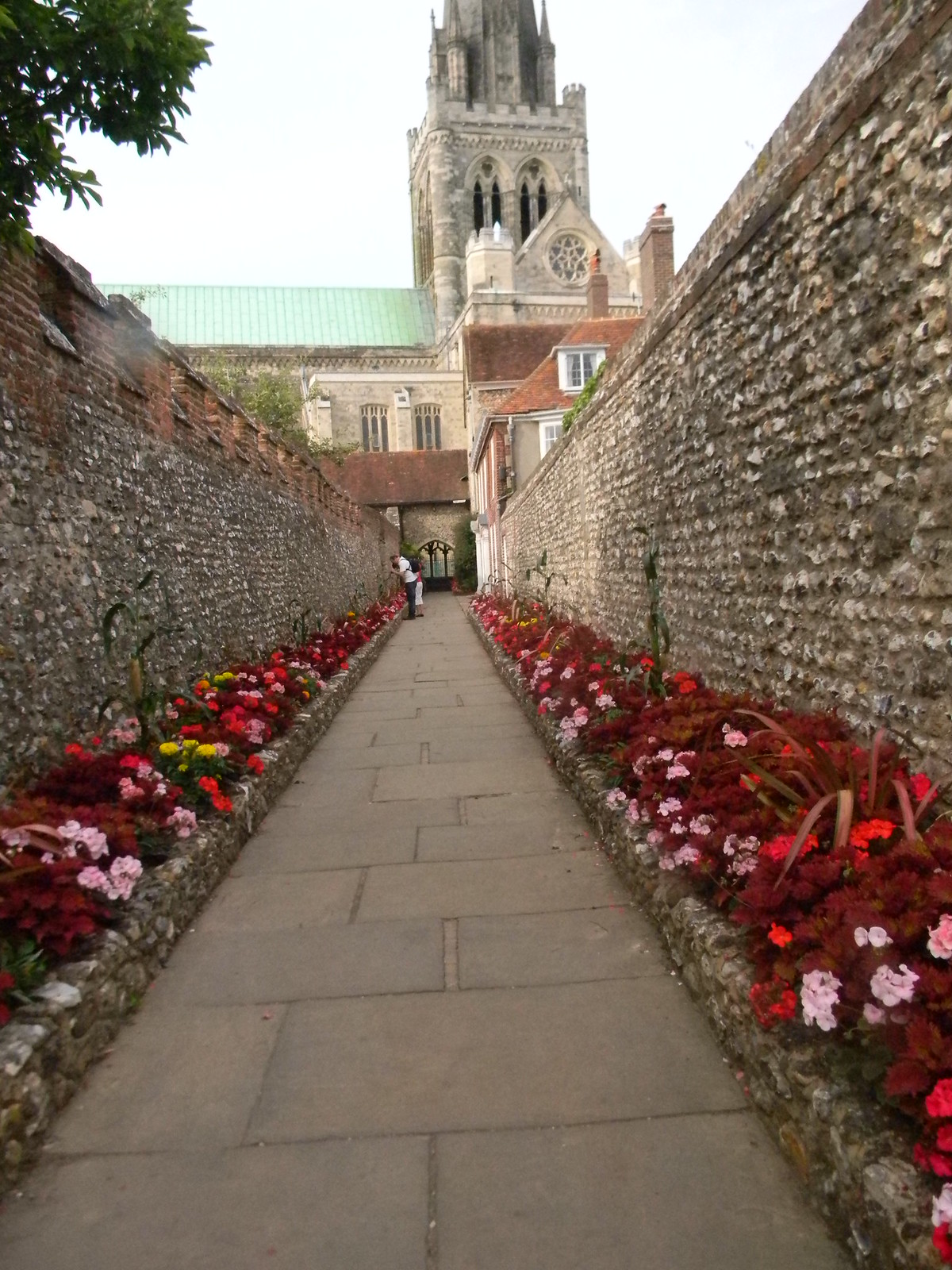 Bishops Garden, Chichester Cathedral Always worth a look. Southbourne to Chichester