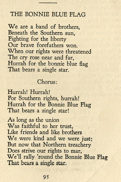 The Bonnie Blue Flag Lyrics