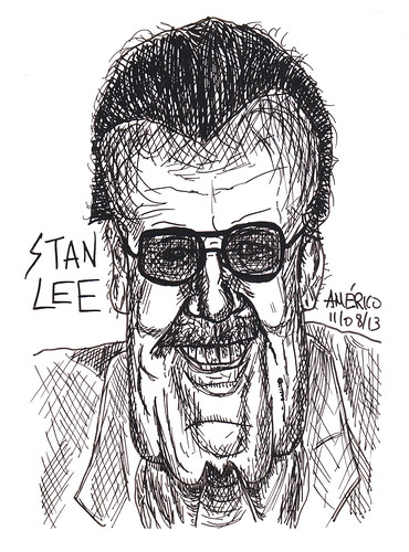 (39) Stan Lee, former president of Marvel Comics by americoneves