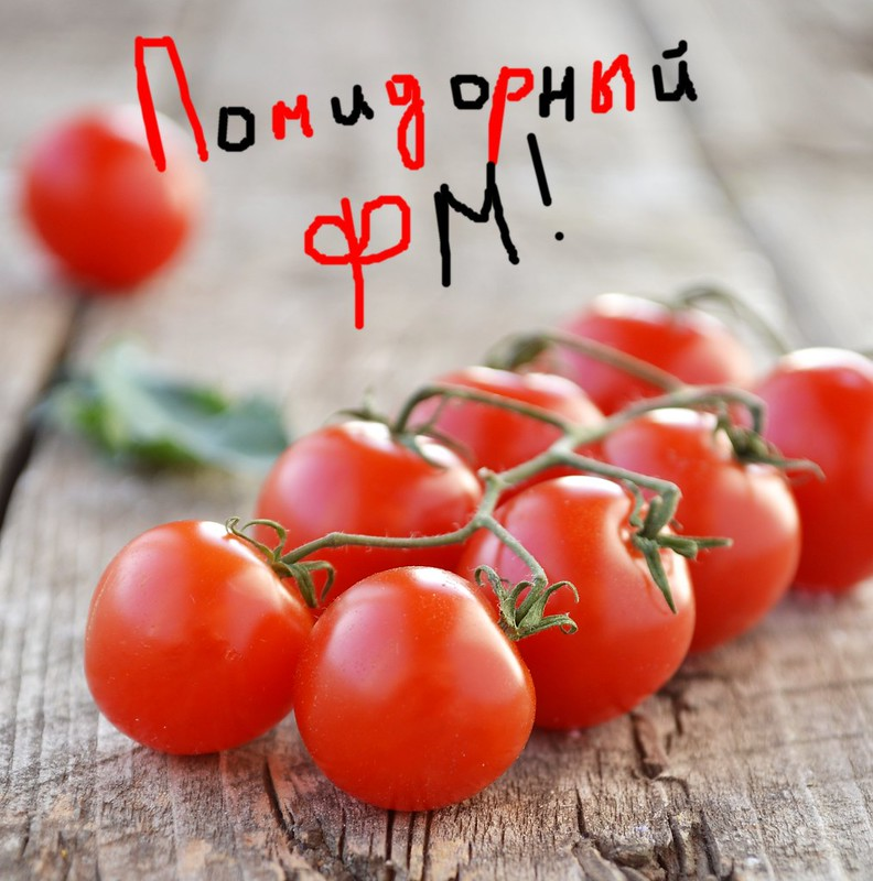 помидорный флешмоб