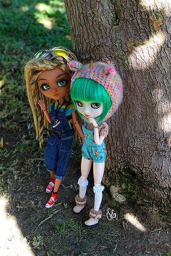 Kedada con Hysl y Lily