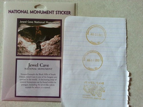 Jewel Cave National Park sticker
