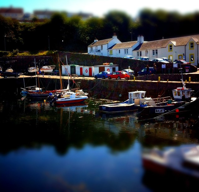 Dunure harbour