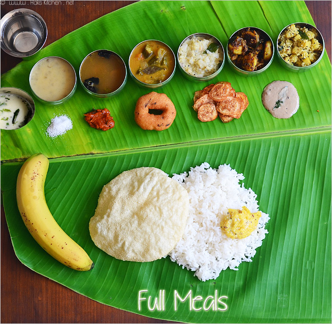 South indian meals lunch menu 17 thala vazhai ilai for Aharam traditional cuisine of tamil nadu