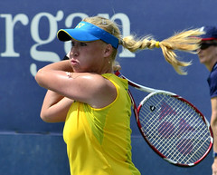 2013 US Open (Tennis) - Qualifying Round - Elena Baltacha