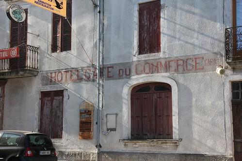 The old Hotel du Commerce