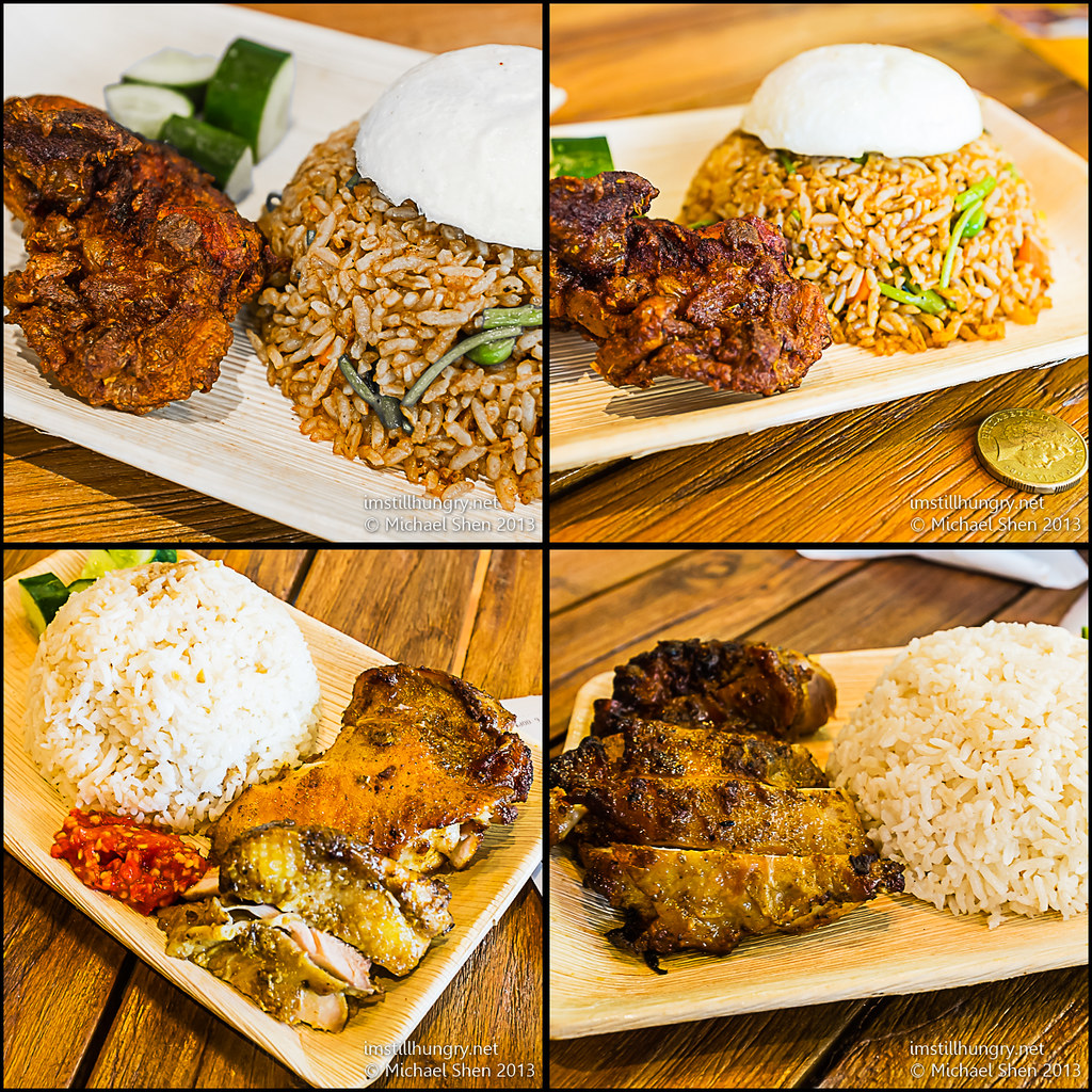 Nasi Goreng (top) & Nasi Lemak (bottom) Mamak Village UNSW