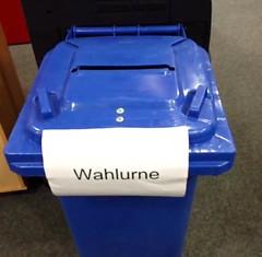Wahlurne Bundestagswahl 2013 in Bochum #btw13