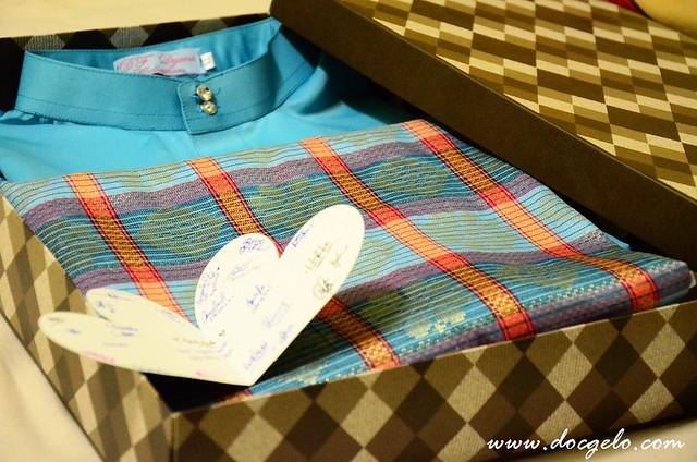 baju melayu gift for docgelo