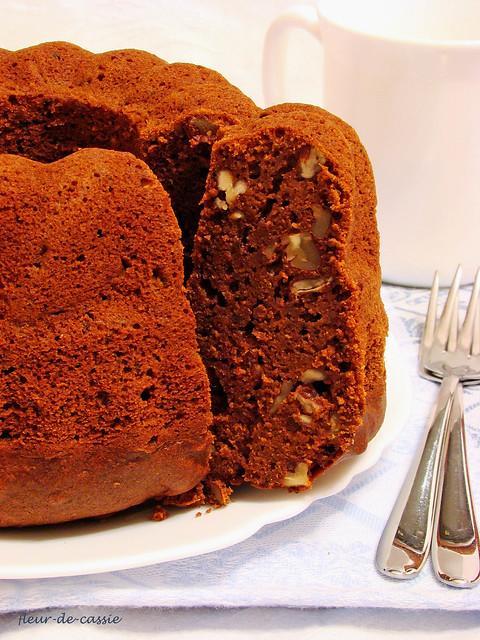тыквенно-шоколадный кекс 3