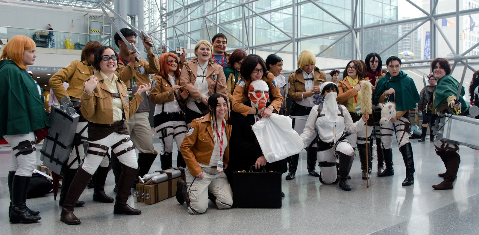 NYCC Attack on Titan Cosplay