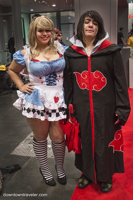 NY Comic Con Couples Costumes Alice Wonderland Sasuke