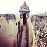 Image of Viejo San Juan near San Juan. square oldsanjuan puertorico squareformat viejosanjuan amaro castillosancristobal iphoneography instagramapp uploaded:by=instagram foursquare:venue=4b59b8e9f964a5209b9428e3