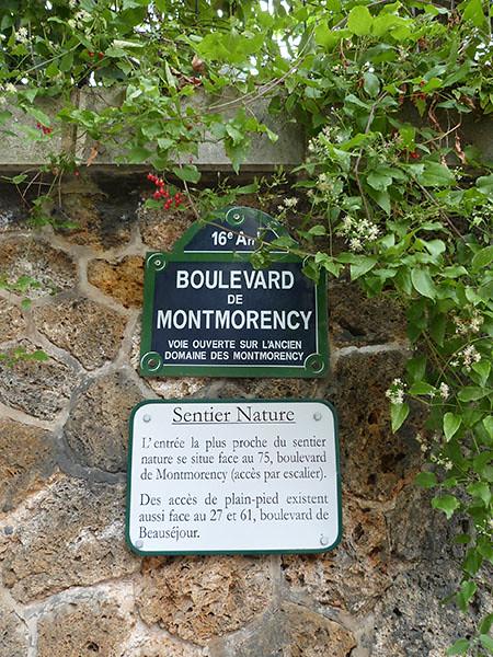 Bd de Montmorency