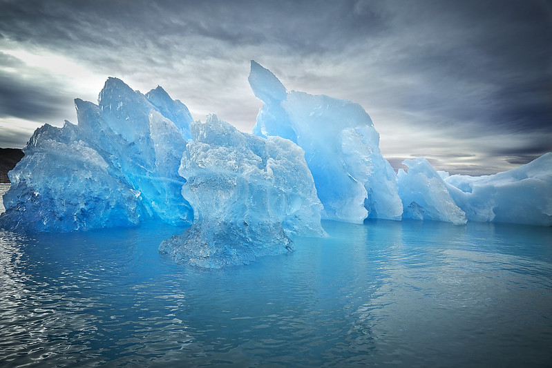 Blue ice in South Greenland
