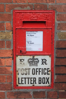 Letterbox - Bodiam, East Sussex
