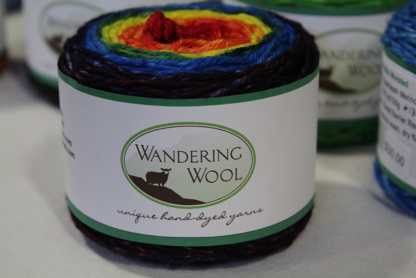 Wandering Wool, Rainbow Yarn, Gradient Skeins